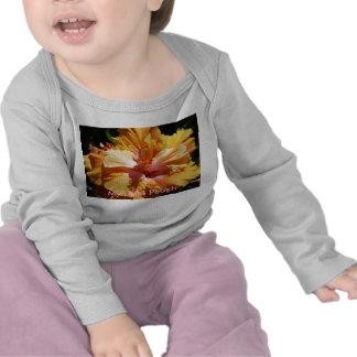 Hibiscus Peach T-shirt