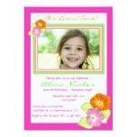 "Hibiscus Photo Invitation 5"" X 7"" Invitation Card"