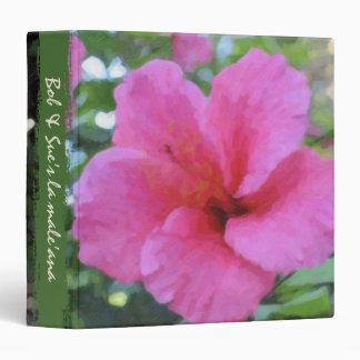 Hibiscus Planning Binder