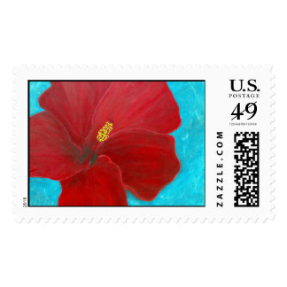 Hibiscus Postage Stamps
