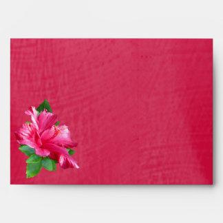 Hibiscus Queen Pink Envelope A7