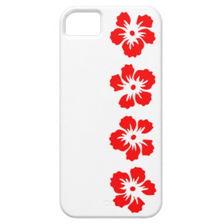 hibiscus rose of Sharon red iPhone SE/5/5s Case