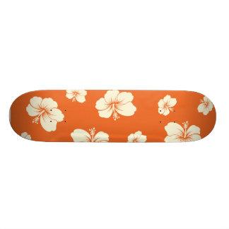 Hibiscus Skate Board Deck