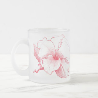 Hibiscus Sketch mug