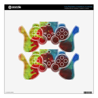 hibiscus skin for PS3 controller