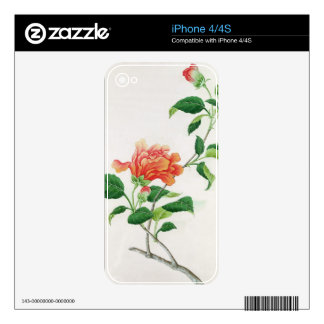 Hibiscus Skin For The iPhone 4