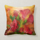 Hibiscus Sky Art Decorator Pillow