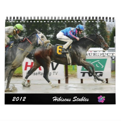 Hibiscus Stables 2012 Wall Calendar