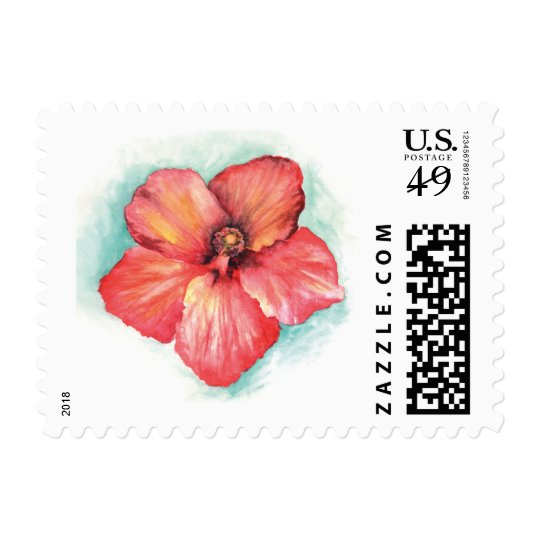 hibiscus stamps