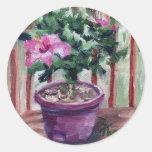 Hibiscus Stickers