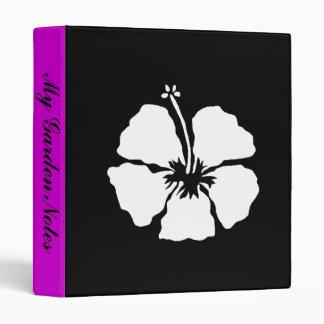 Hibiscus style aloha flower binder
