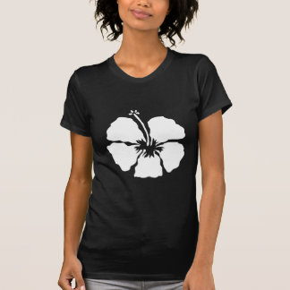 Hibiscus style aloha flower T-Shirt