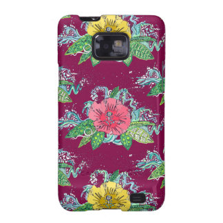 hibiscus surf berry galaxy SII cases