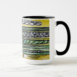 Hibiscus Surf Mug