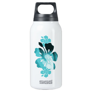 Hibiscus surf style thermos bottle