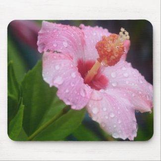 Hibiscus Tears Mousepad mousepad