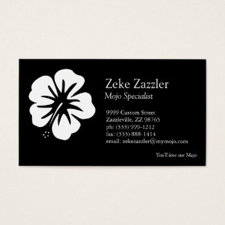 Hibiscus Template Business Card