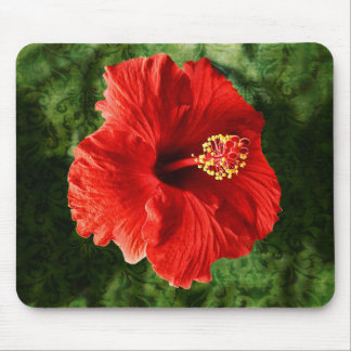 Hibiscus Template Mousepad-Personalize Mouse Pad