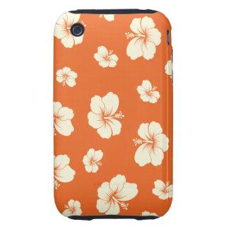 Hibiscus Tough iPhone 3 Cover