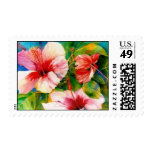 Hibiscus Triad Postage Stamps
