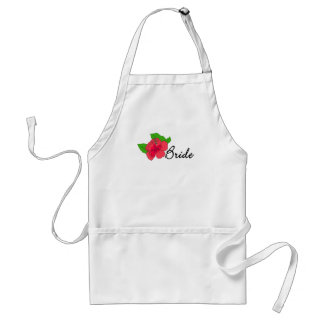 Hibiscus Tropical BRIDE Adult Apron