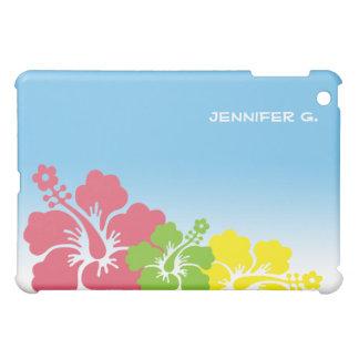 Hibiscus tropical flowers blossom trio Hawaiian iPad Mini Covers