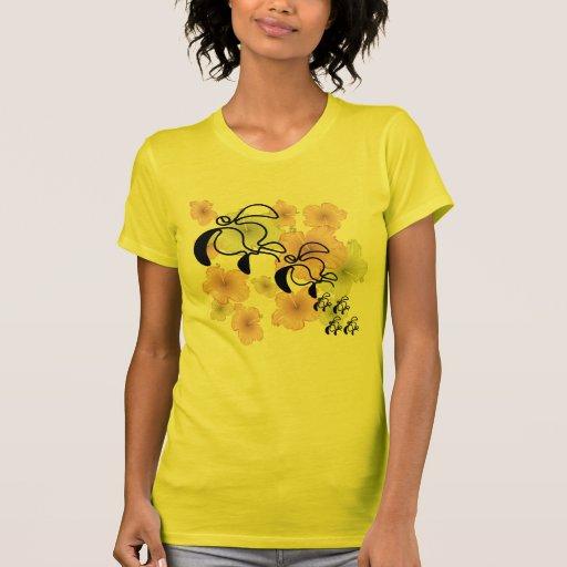 Hibiscus-Turtle-Family Tshirts