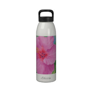 Hibiscus Water Bottle