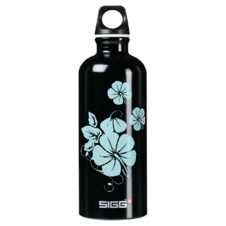 Hibiscus Water Bottle
