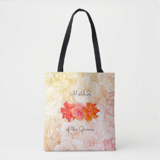 Hibiscus Wedding Mother of the Groom Tote Bag