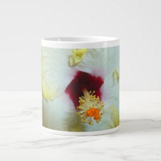 Hibiscus Yellow w Red center Large Coffee Mug