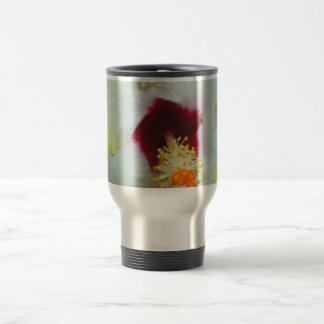 Hibiscus Yellow w Red center Mugs