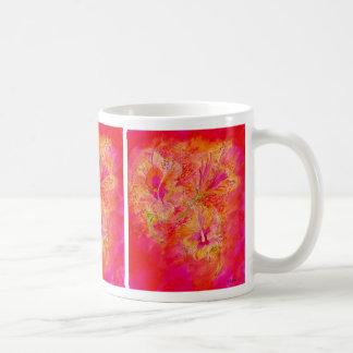 Hibiscuses by S Ambrose Coffee Mug