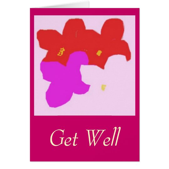 hibiscusglory, Get Well Card