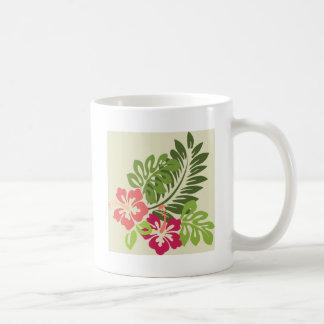 Hibuscus Classic White Coffee Mug
