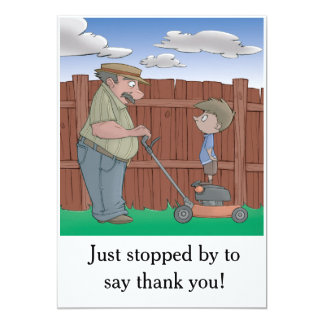 Hiccup Book - thank you card (postcard)