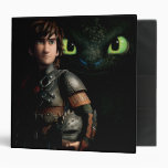Hiccup & Toothless 3 Ring Binder