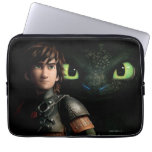 Hiccup & Toothless Laptop Computer Sleeves