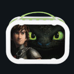 "Hiccup &amp; Toothless Lunch Box<br><div class=""desc"">Check out this Hiccup &amp; Toothless Lunchbox! Personalize your own How to Train Your Dragon 2 merchandise on Zazzle.com! Click the Customize button to insert your own name or text to make a unique product. Try adding text using various fonts &amp; view a preview of your design! Zazzle&#39;s easy to...</div>"