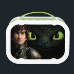 """Hiccup &amp; Toothless Lunch Box<br><div class=""""desc"""">Check out this Hiccup &amp; Toothless Lunchbox! Personalize your own How to Train Your Dragon 2 merchandise on Zazzle.com! Click the Customize button to insert your own name or text to make a unique product. Try adding text using various fonts &amp; view a preview of your design! Zazzle&#39;s easy to...</div>"""