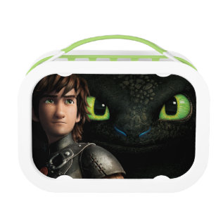 Hiccup & Toothless Lunch Box at Zazzle