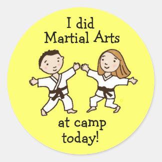 Hice artes marciales en los pegatinas del campo ho