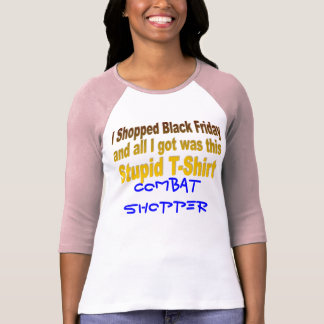 Hice compras viernes negro camiseta