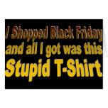 Hice compras viernes negro tarjetón