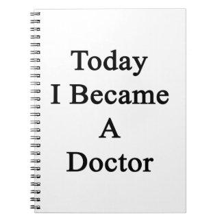 Hice hoy doctor libros de apuntes con espiral
