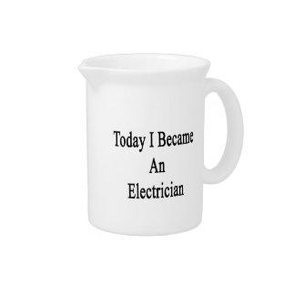 Hice hoy electricista jarras