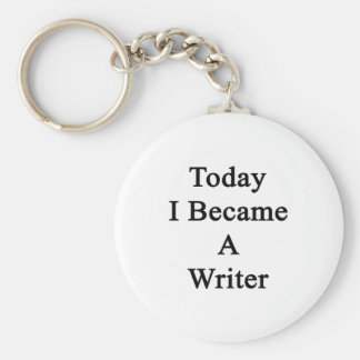 Hice hoy escritor llavero