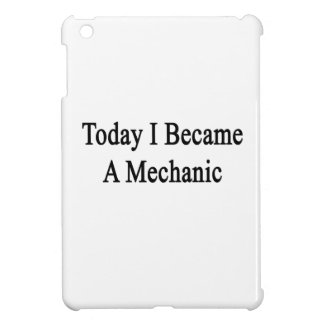 Hice hoy mecánico