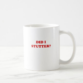 Hice tardamudeo taza de café