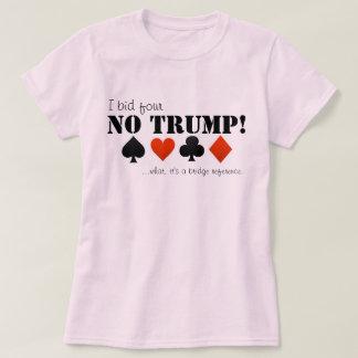 Hice una oferta cuatro ningún triunfo… camisas